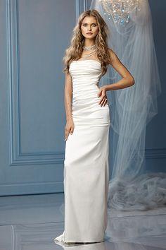 Beautifully elegant gown at an amazing price!  Wtoo Elba Gown   theweddingpartyonline.com