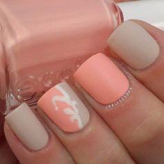 spring matte nails 22