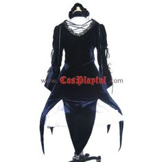 Suigintou Mercury Lampe Lolita Cosplay Costume ❤ liked on Polyvore featuring costumes, maiden costume, cosplay halloween costumes, role play costumes and cosplay costumes