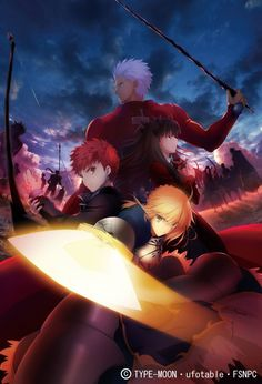 「Fate/stay night[Unlimited Blade Works]」キービジュアル