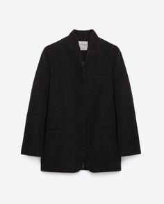 Image 8 of MENSWEAR COAT from Zara