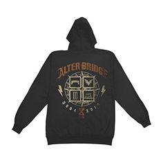 Alter Bridge Men's 10 Years Zippered Hooded Sweatshirt Black - http://bandshirts.org/product/alter-bridge-mens-10-years-zippered-hooded-sweatshirt-black/