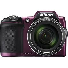Creating and sharing beautiful images is simple with this Nikon Coolpix L840 digital camera, which features optical stabilization to reduce camera shake and NFC, Wi-Fi and PictBridge technologies for easy connectivity to the Internet and various devices.