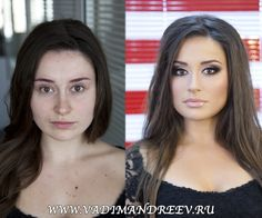 someone teach me how to do make up... -- Russian Makeup: Before And After | Vadim Andreev