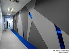 Office design by M Moser Associates by M Moser Associates | Interior Design Architecture, via Flickr