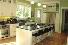 Go Green Kitchen Cabinets