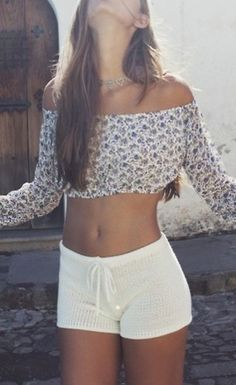 I'm not usually one for frills and flowers but this shirt is really cute, I'd probably wear it what the hell :P