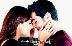Beautiful Couple, Beautiful World, Most Beautiful, Cute Love Stories, Love Story, Hayat And Murat, Hande Ercel, Turkish Actors, Best Couple