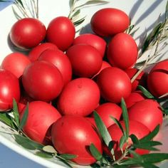 Greek Orthodox Easter Egg - Traditionally Red