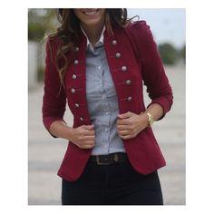 fall coats for women casual Blazer Fashion, Fashion Outfits, Womens Fashion, Fashion Trends, Fashion Coat, Woman Outfits, Look Fashion, Autumn Fashion, Trendy Fashion