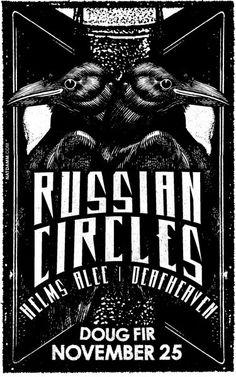 Russian Circles by Nat Damm.