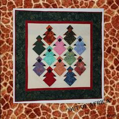 Out of Africa #African Queen#Quilt
