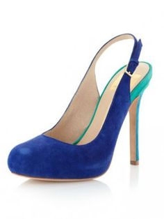 Dolce Vita Blane Colorblock Slingback Pump #shoes www.theblush.com