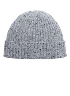 Cute grey hat.