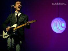 Jorge Drexler, músico y compositor uruguayo, en su gira Mundo Abisal.  Concierto en los Espacios Abiertos del Centro Cultural Corp Banca. Caracas, 17 -02-2012 (WILLIAMS MARRERO / EL NACIONAL)