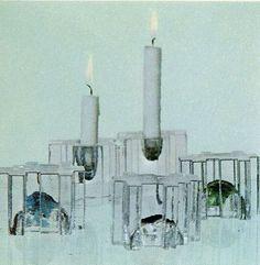 Forest (paperipaino / paperweight). Designer: Helena Tynell. Arkisto: Riihimäen Lasitehdas Oy (1976). #tynell #glass #design #finnishdesign #riihimaenlasi