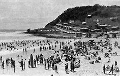 Burleigh Heads beach 1930s