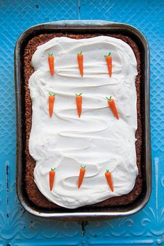 Perfect Spring Dessert: Classic Carrot Cake   Shine Food - Yahoo! Shine