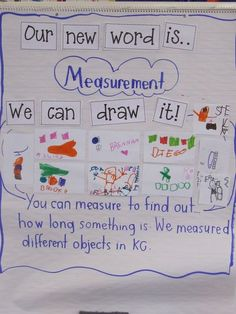 9 Must Make Anchor Charts for Math that cover everything from patterns, vocabulary, ten frames, measurement, and more! These graphic organizers are easy to recreate and students love referring to them in math. Measurement Kindergarten, Kindergarten Anchor Charts, Measurement Activities, Math Anchor Charts, Math Measurement, Math Vocabulary, Preschool Math, Math Classroom, Kindergarten Math