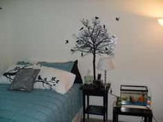 Silhouette Tree Wall Decal - Urban Outfitters