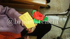 Les #Roses i #drac de #SantJordi2015 de la #Residencia #MasMoner i #Catite, per les #EducadoresSocials de Bsp Asistencia