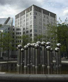 Modern Art Sculpture Brussels - By Kate