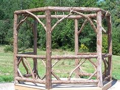 Rustic Potting Sheds | Rustic made gazebo | Gardening...Arbors, Gazebos, Potting Benches & S ...