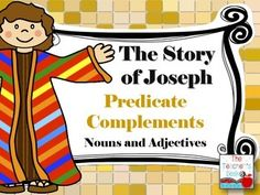 Predicate nominatives predicate adjectives interactive notebook the story of joseph predicate complements stopboris Choice Image