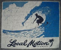Authentic Local Motion Hawaii Surf Gear Recycled by RecycleRog, $29.99