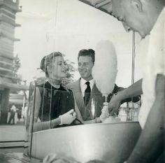 Grace Kelly with Jean Pierre Aumont.