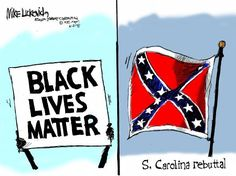 The controversy over the continued use of the Confederate flag re-ignited after the church massacre in South Carolina