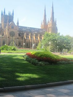 Saint Mary's Cathedral in #HydePark, #Sydney