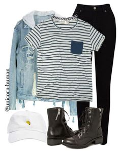 """""""Untitled #2587"""" by unicorn-human ❤ liked on Polyvore featuring EAST, Ashley Stewart and Wet Seal"""