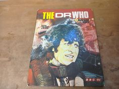 Vintage Retro 1977 Dr Who Annual Starring Tom Baker by MollyTops