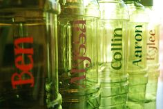 Burton Avenue l Personalised Water Bottles