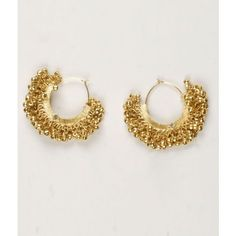 Moonstruck traditional gold hoop earring with a ghungroo-Jewellery-Moonstruck