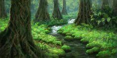 Jungle Concept Art | BYU Illustration