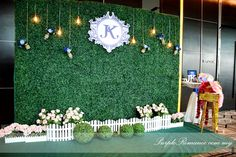 Photo Booth Backdrop Decoration