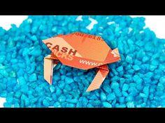 Folding banknotes: crafting a boat to make money wedding - folding money ship . Dollar Origami, Money Origami, Diy Gifts, Great Gifts, Folding Money, Paper Fish, Origami Instructions, Savings Plan, Diy Paper