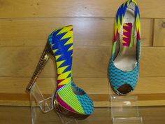 Handmade+African+Wax+Print+Covered+Shoes++by+AfroFusionDesigns,+£45.00