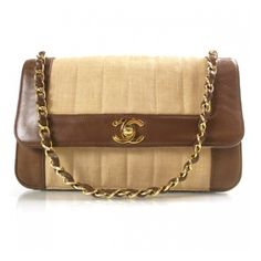 Fashionphile - CHANEL Vintage Straw Leather Flap Brown ❤ liked on Polyvore featuring bags, handbags, clutches, chanel, chanel bags, purses, straw purses, chanel handbags, leather flap purse and chanel purses