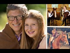 Bill Gates with his Family
