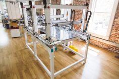 Cronus 3D printer powered by Project Escher. Photo via: Titan Robotics