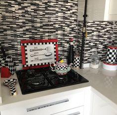Mackenzie childs inspired diy kitchen accessories