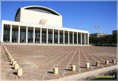 adalberto libera - palazzo dei Congresso Roma Eur