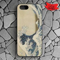 Hokusai The Great Wave iPhone SE Black Case
