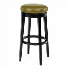 Armen Backless Swivel Barstool with Wasabi Seat $143.05