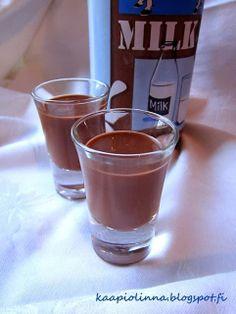 Kääpiölinnan köökissä: Alcohol is my only friend - suloinen suklaalikööri