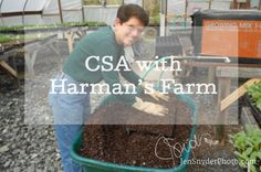 video blog, all about the CSA program with Harman's Farm. Presented by Jen Snyder, photographer in Harford County, MD http://www.jensnyderphoto.com