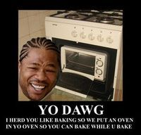 Yo dog I heard you like ovens